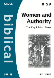 "Grove booklet ""Women and Authority"""