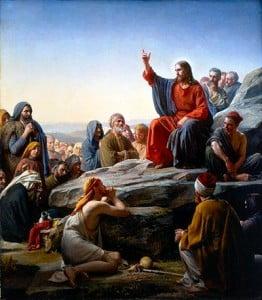 Sermon on the mount by Bloch
