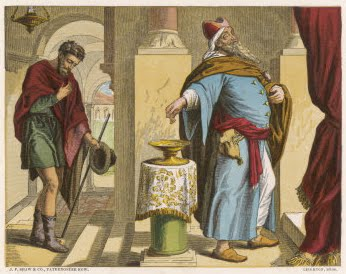 Image result for pharisee and tax collector