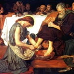 The real meaning of the foot washing