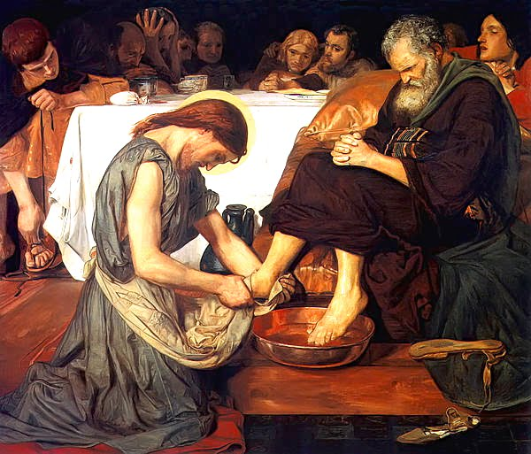 The Real Meaning Of The Foot Washing Psephizo