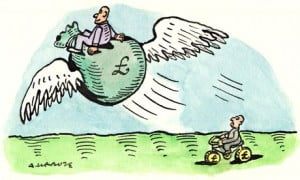 Andrzej Krauze on Piketty economics