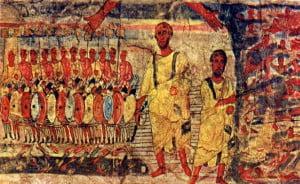 Dura_Europos_fresco_Jews_cross_Red_Sea