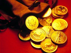 The_financial_crisis_Wallpaper_Gold_Bag_of_gold_013940_