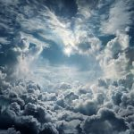 When is God 'coming on the clouds'?