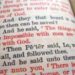 Resolving tensions in our reading of Scripture