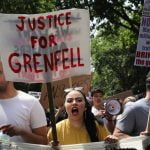 Prayer, anger and Grenfell Tower