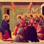 Jesus' farewell discourse in John 14