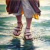 Jesus (and Peter) walking on the water in Matthew 14