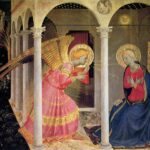 The annunciation to Mary in Luke 1