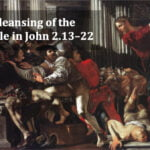 The cleansing of the temple in John 2 video